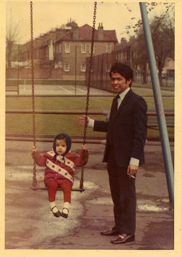 Me & My Dad  London, 1970